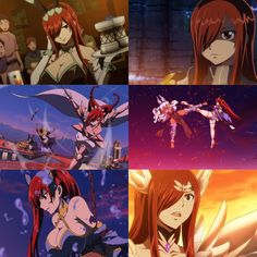 Erza Scarlet in Dragon Cry