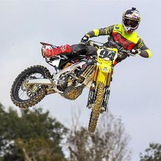 Cool pic of Ken Roczen. #Suzuki #foxracing by brap_mx