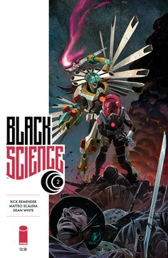 Black Science #2A  by Matteo Scalera