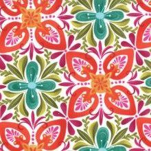 Terrain Fabric by Kate Spain Stonecrop Bloom