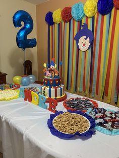 Birthday Decorations, Birthday Party Themes, 2nd Birthday, Birthday Invitations, Baby Shower Photo Booth, Noah, Ideas Para Fiestas, Birthdays, Fiesta Mickey