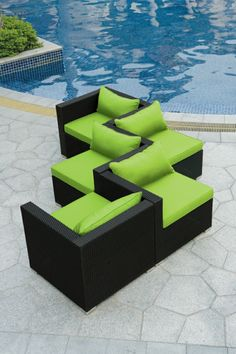 Modulares outdoor sofa island  Patio furniture | Outside, At Home: Gathering Spaces & Gardens ...