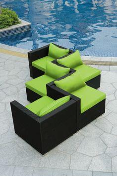Modernes modulares Outdoor Sofa