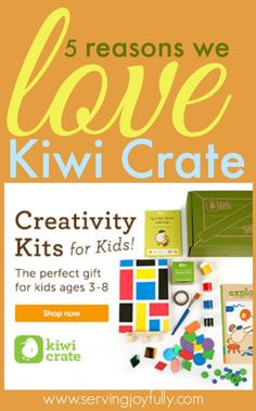 Why we LOVE Kiwi Crate Subscription Crafts