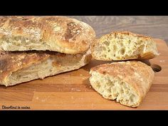 Pane BUONISSIMO fatto in casa - Ricetta FACILE | Divertirsi in cucina - YouTube Focaccia Pizza, Polenta, Biscotti, Buffet, Food And Drink, Cooking, Recipes, Breads, Youtube