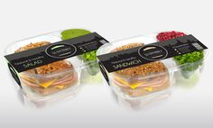 53 Gourmet Deli Inc. on Behance Sandwich Packaging, Salad Packaging, Beverage Packaging, Plastic Packaging, Healthy Gourmet, Gourmet Recipes, Dog Food Recipes, Dessert Recipes, Food Branding