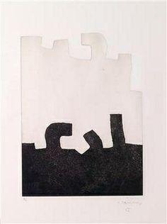 Eduardo Chillida - Aikaitz, 1972, etching with... on MutualArt.com