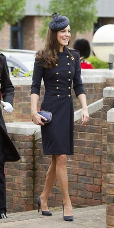 kate middleton in alexander mcqueen, shes always well dressed!