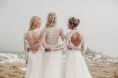 Sármán Nóra shared by Veronika Szabó on We Heart It Designer Wedding Dresses, Wedding Gowns, Norwegian Wedding, Beautiful Bridal Dresses, Industrial Wedding, Bridal Collection, Bridal Style, Wedding Styles, Portugal