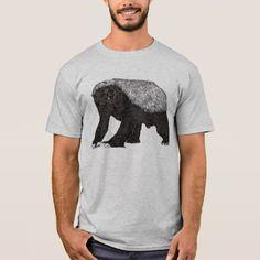Honey badger baring it's teeth T-Shirt