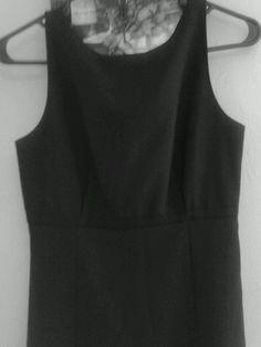 Women's Gap Brand Little Sleeveless Stretch Black Dress Juniors Size 1 #GAP #CsualLittleBlackDress #Casual