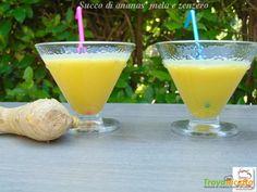 Succo di ananas mela e zenzero  #ricette #food #recipes