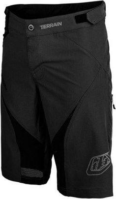 "Troy Lee Designs Men's Terrain Bike Shorts 12.5"" Inseam Black 34"