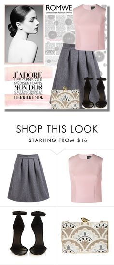 """""""Romwe"""" by sombre-lune ❤ liked on Polyvore featuring Komar, Simone Rocha, Isabel Marant and KOTUR"""