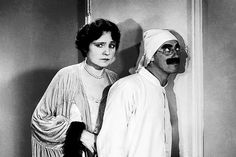 the irrepressible Groucho ... always with Margaret Dumont