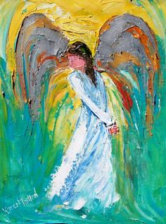 Anjo - Pintura de Karen Tarlton - USA