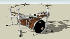 DW Collectors Series Natural w/ White Hardware - 3D Warehouse