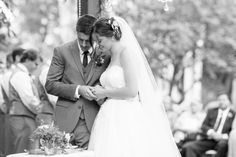 Bride and Groom Taking Communion Black and White Photo   Chico-Wedding-Photographer-Private-Estate-Northern-California-TréCreative