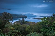 Eilean Donan Castle from the wilderness