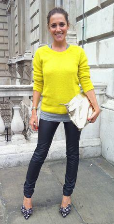 Wearing It Today: Last day of London Fashion Week.. freestyling!