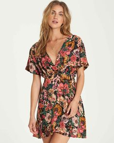4488cbbf4c26 With You Mini Dress 828570064891 | Billabong Surf Girl Style, Latest  Clothing Trends, Boho