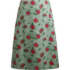 Seasalt Portfolio Skirt Reversible.  Lovely cotton skirt. Reversible for those indecisive days, with a unique Seasalt print on either side. Falls to below the knee in a subtle a-line shape.