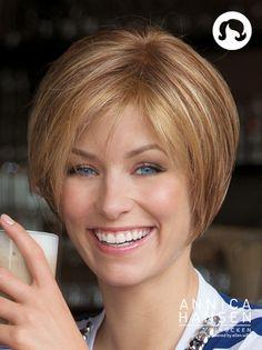 Chic Look #pruiken #wigs #peruca #annicahansen