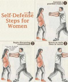 Self-Defense - Steps for women