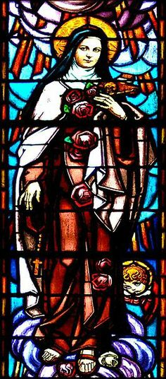 Saint Theresa Of Lisieux also called (Little Flower) - Stained Glass Of The Cathedral Of Saint Cecile, Albi, Tarn, France |