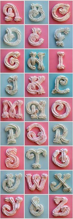 3 dimensional merengue font