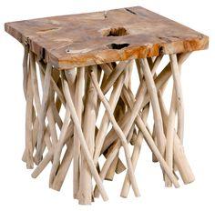 #SideTables #TablePerth - Sticks Side Table - Segals Outdoor Furniture
