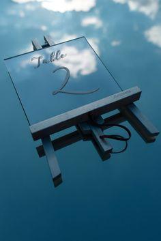custom made mirror table number Greece Wedding, Crystal Wedding, Make Design, Table Numbers, Plan Your Wedding, Luxury Wedding, Wind Turbine, Wedding Details, Wedding Reception