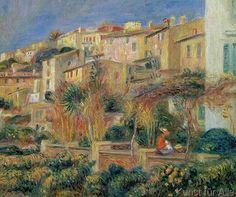 Pierre Auguste Renoir - Terrace in Cagnes, 1905