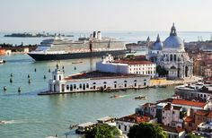 Venice by Cruise Ship http://thingstodo.viator.com/venice/venice-by-cruise-ship/