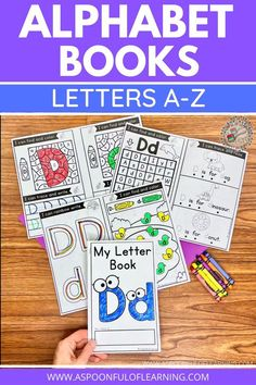 I am so excited to share with you my NEW Letters A-Z Alphabet Books! These alphabet books include 26 foldable books that will have your students learning about each letter of the alphabet in a variety of ways. They are easy to print, prep, and ready to go! Students will get to practice Tracing, Writing, Letter Identification, Handwriting, Letter Formation, Beginning Sounds, Simple Sentences, Fine Motor Skills, Problem Solving, and MORE! Get a closer look at these alphabet books here.