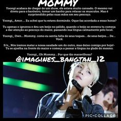 A imagem pode conter: 2 pessoas, texto Yoonmin, Fanfic Exo, Bts Imagine, Min Suga, Imagines, Bts Bangtan Boy, Jikook, Bts Memes, Instagram