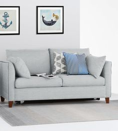 This is no lightweight sofa bed mind you – sit on it you'll feel how robust and well-crafted it is. £799 | MADE.COM