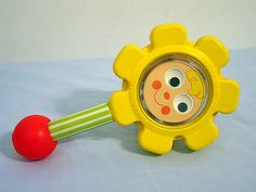 Fisher Price: Flower Rattle