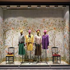 "COLETTE, Paris, France, ""Les fleurs sont en fleurs"", (The flowers are in bloom), for GUCCI, pinned by Ton van der Veer"