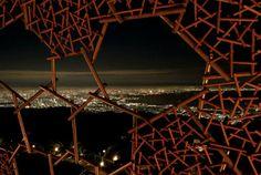 Japanese Installation Creates Luminescent Mountain