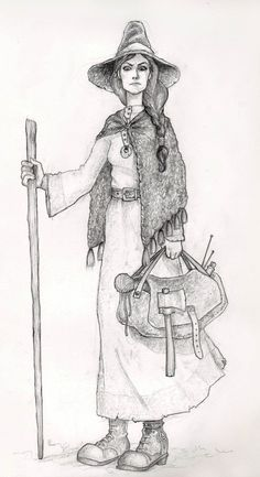 Witch - Young Esmeby ~EnjoyPorno  Traditional Art / Drawings / Fantasy