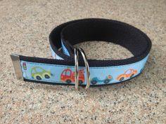 10% OFF...Cars and Trucks Boys Belt  - Boys Belt - D Rings Belt - Webbing Belt - Children Belt - Kids Belt - Toddler Belt - Velcro Belt