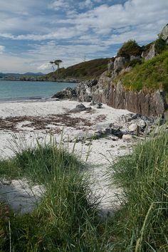 White sand beach, Bunacaimb, Mallaig, Scotland