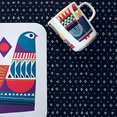 Enjoy your favorite warm beverage any time of year with this microwave, oven, dishwasher and freezer safe mug. Marimekko Kukkuluuruu Multicolor Mug