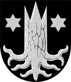 Municipality of Kemijärvi, Finland, Area Km²) Family Shield, Family Crest, Crests, Coat Of Arms, Something To Do, Knight, Sci Fi, Symbols, Historia