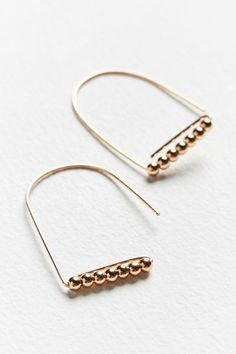 Raina Delicate Wire Drop Earring | Urban Outfitters