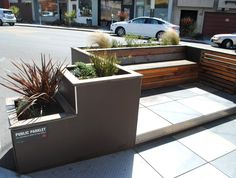 12 Inspiring mini parks created in street parking spaces seabreeze parklet – Inhabitat - Green Design, Innovation, Architecture, Green Building