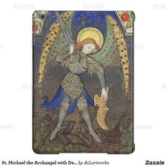St. Michael the Archangel with Devil iPad Air Case