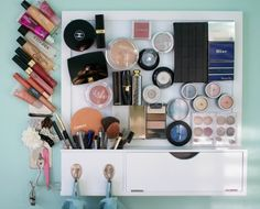 Magnetpinwand für Make-Up