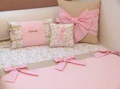 acolchado niñas almohadones moños